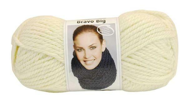 Wol Bravo Big - 200 g, naturel