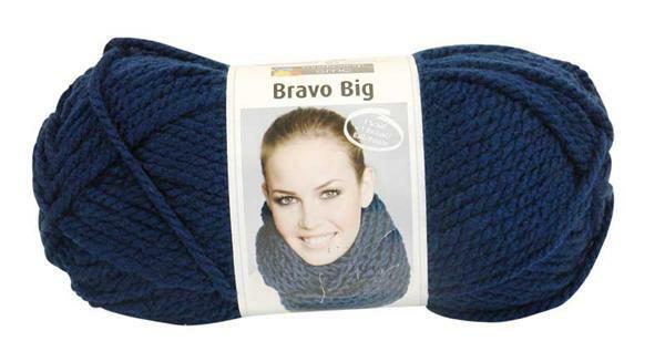 Laine Bravo Big - 200 g, indigo