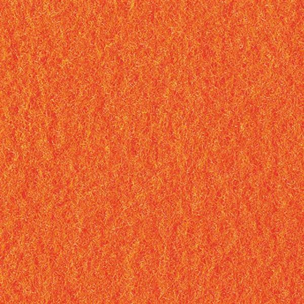 Filzplatte - 30 x 45 cm, orange