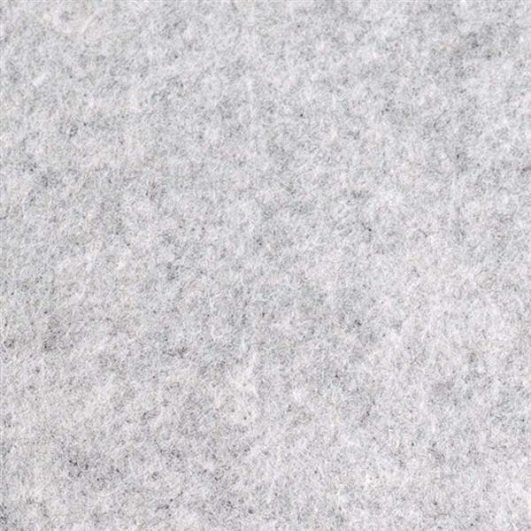 Filzplatte - 30 x 45 cm, grau meliert