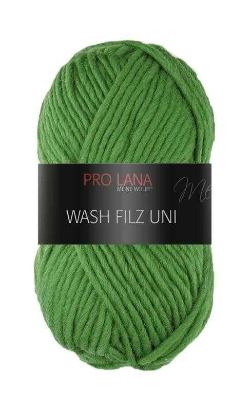 Filzwolle - 50 g, moosgrün