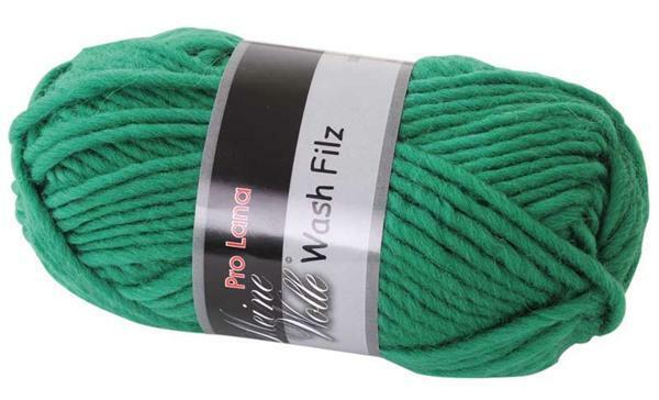 Viltwol - 50 g, mosgroen
