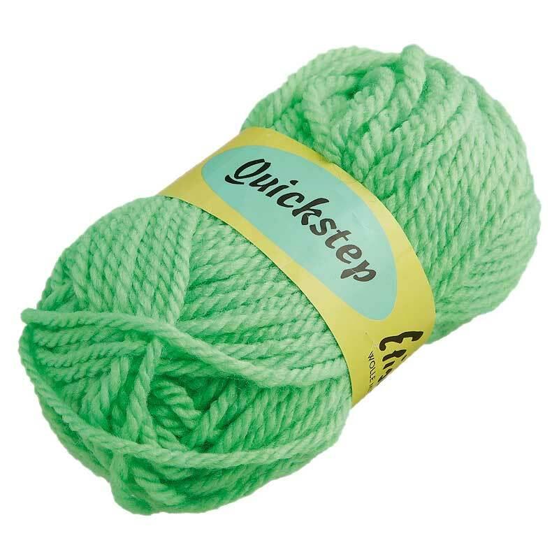 Wol Quickstep - 50 g, neongroen