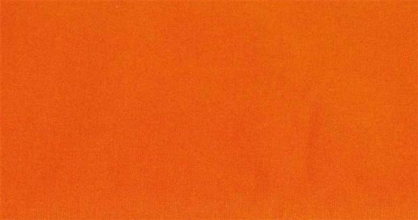 Katoenen stof - effen, oranje