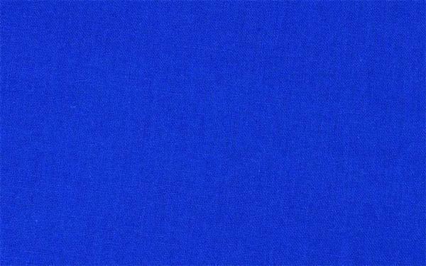 Baumwollstoff - uni, blau