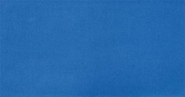 Katoenen stof - effen, blauw