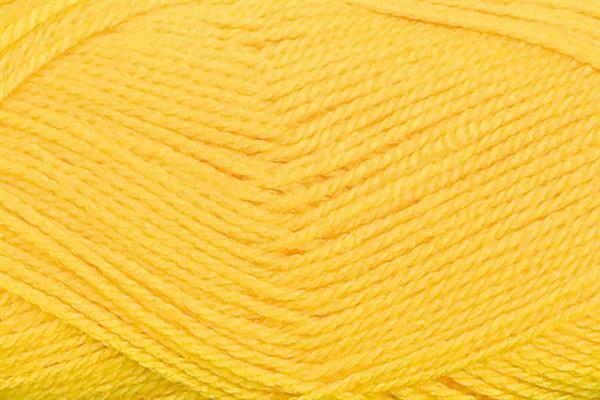 Schulwolle Lisa - 50 g, dottergelb
