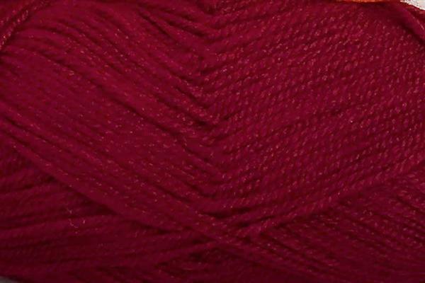 Schulwolle Lisa - 50 g, dunkelrot