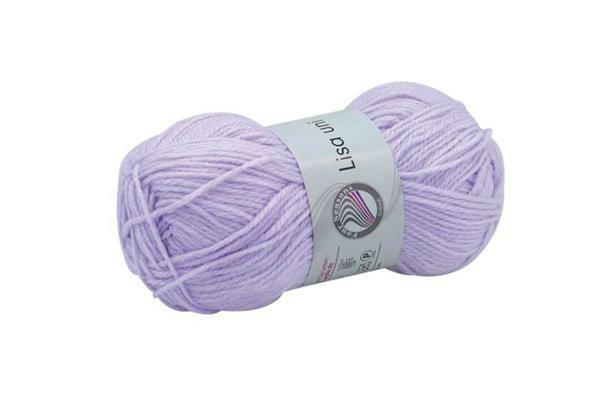 Schulwolle Lisa - 50 g, lavendel