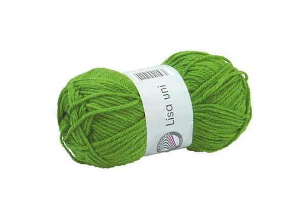 Schulwolle Lisa - 50 g, apfelgrün