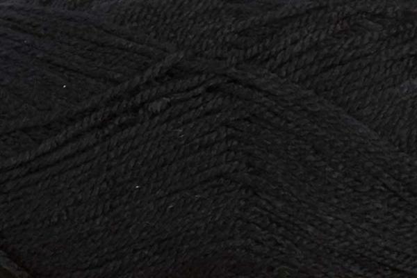 Schoolwol Lisa - 50 g, zwart