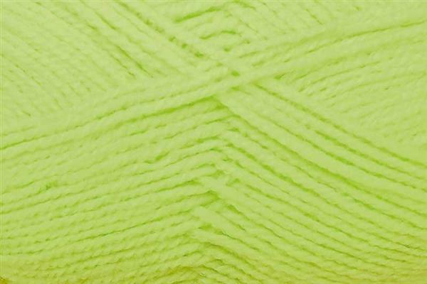 Schulwolle Lisa - 50 g, neongelb