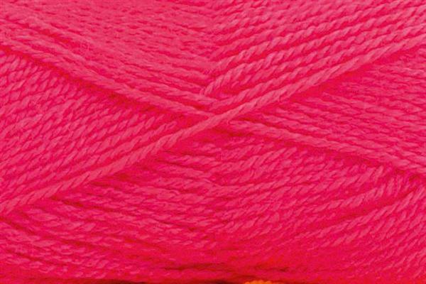Schulwolle Lisa - 50 g, neonpink
