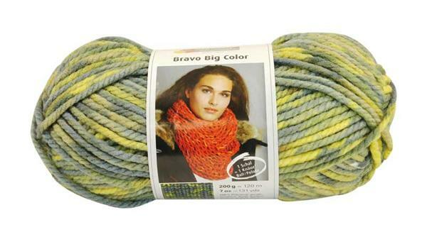 Wol Bravo Big Color - 200 g, nijl
