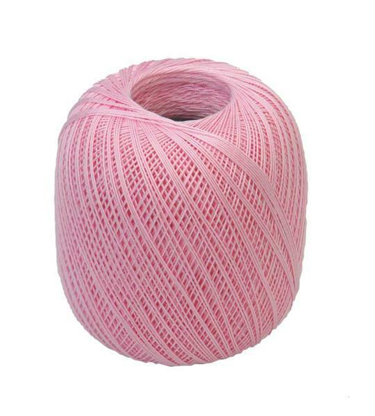 Häkelgarn - Stärke 16, rosa