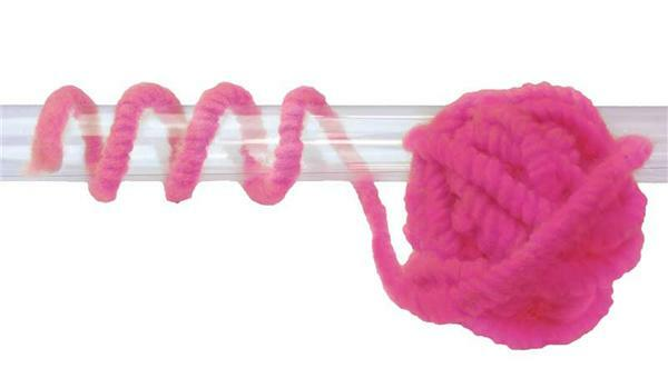Filzschnur - Ø 8-10 mm, pink