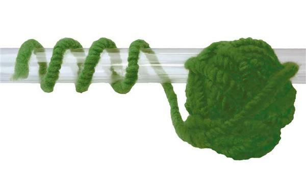 Filzschnur - Ø 8-10 mm, grün