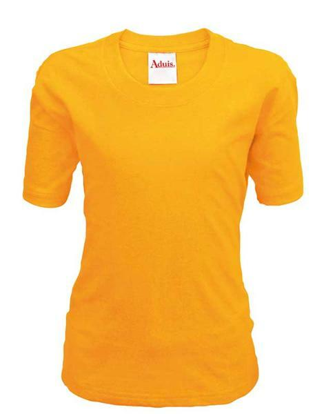 T-shirt kind - oranje, XL