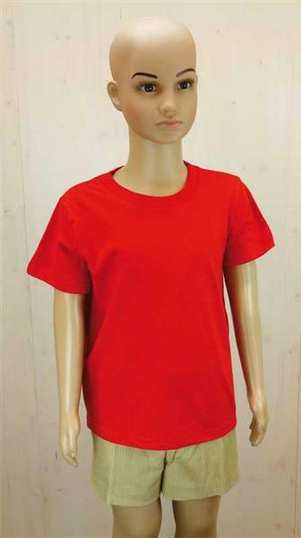 T-Shirt Kinder - rot, XL