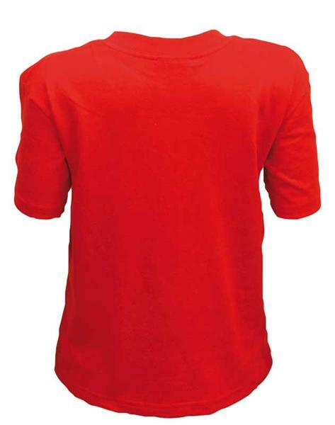 T-shirt kind - rood, L