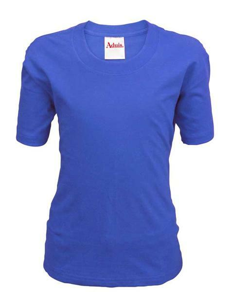 T-shirt kind - blauw, L