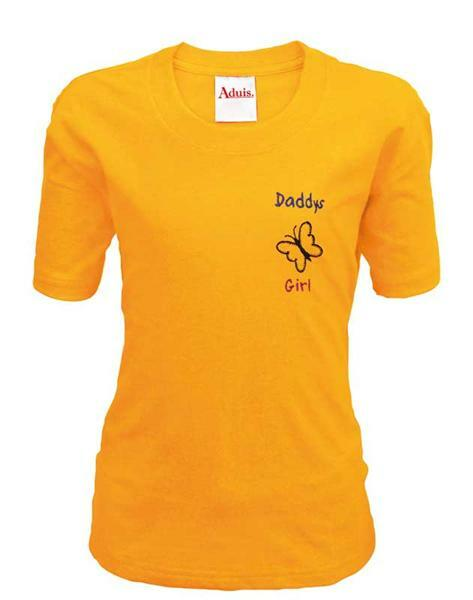 T-shirt kind - oranje, S