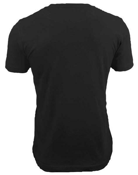 T-shirt man - zwart, XL
