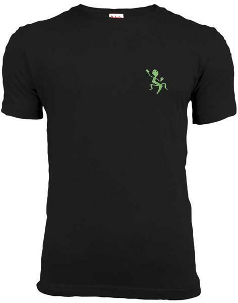 T-shirt man - zwart, S
