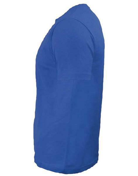 T-Shirt Herren - blau, L