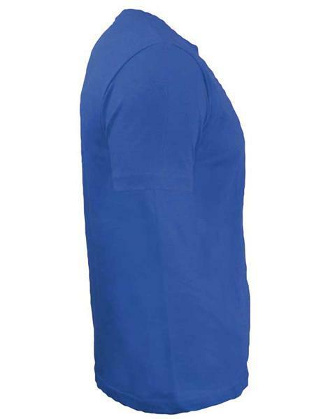 T-Shirt Herren - blau, S