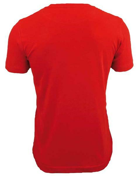 T-shirt man - rood, S