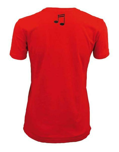 T-shirt vrouw - rood, S