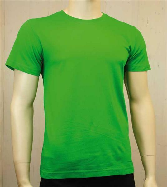 T-shirt man - groen, S