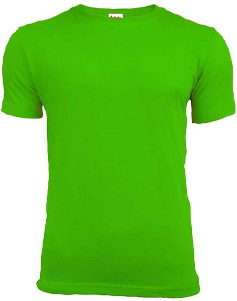 T-shirt man - groen, L