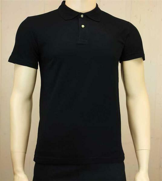 Polo-Shirt Herren - schwarz, S