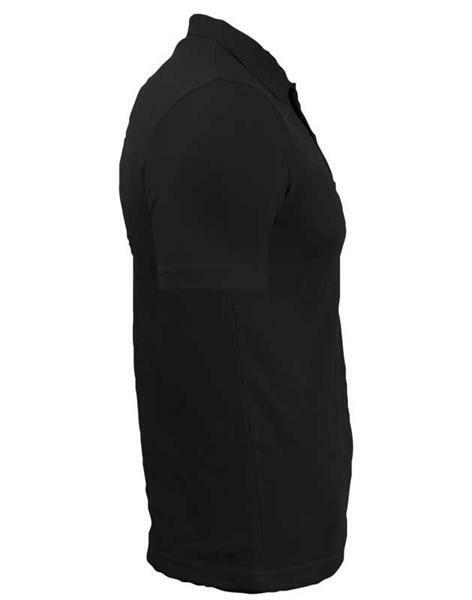 Polo-Shirt Herren - schwarz, XL