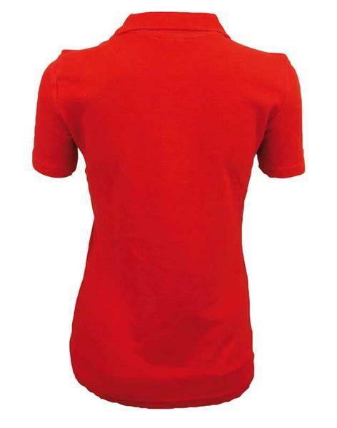 Polo-Shirt Damen - rot, S