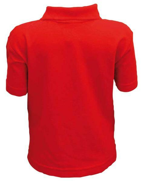 Polo-Shirt Kinder - rot, S