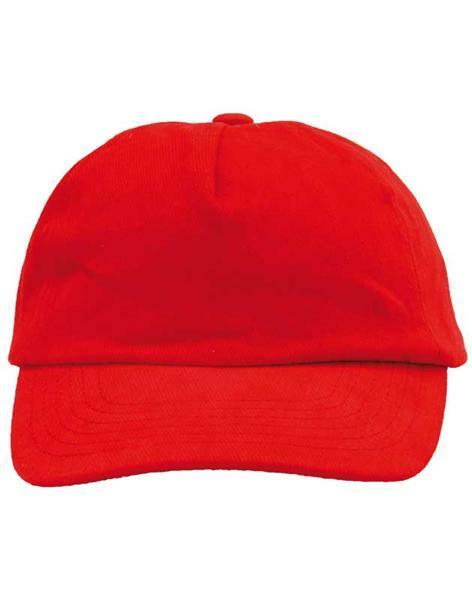 Casquette base-ball - enfant, rouge