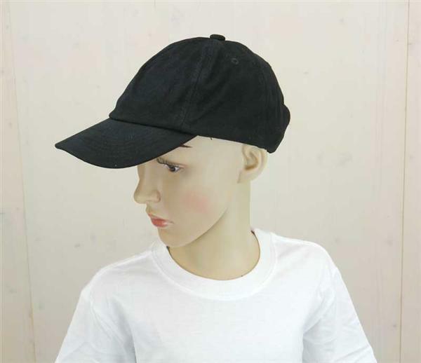 Baseball Cap - Kinder, schwarz