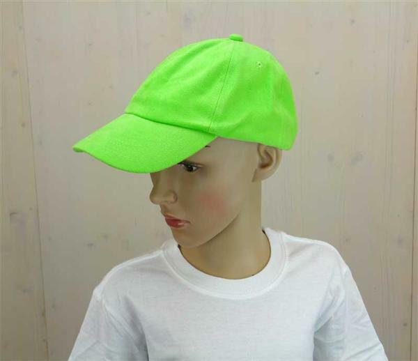 Casquette base-ball - enfant, vert