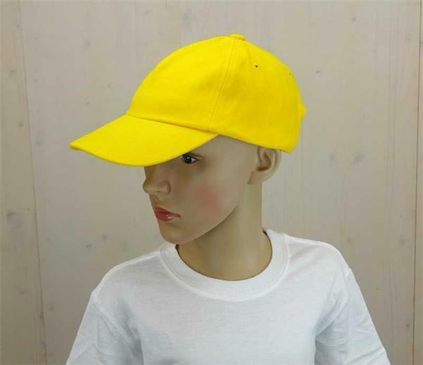 Casquette base-ball - enfant, jaune