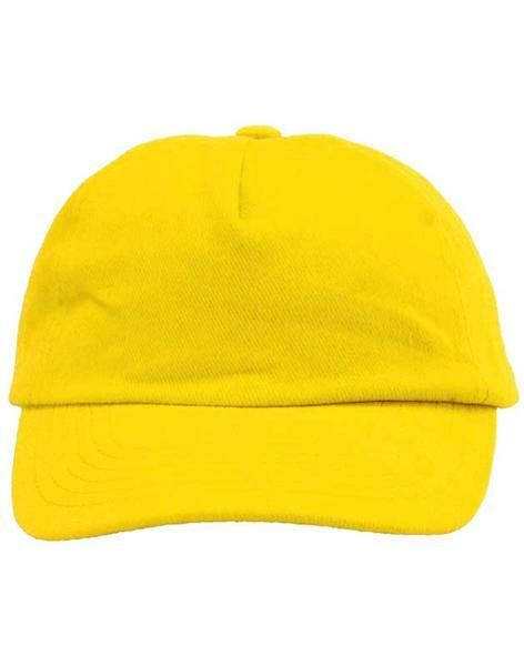 Baseball Cap - Kinder, gelb