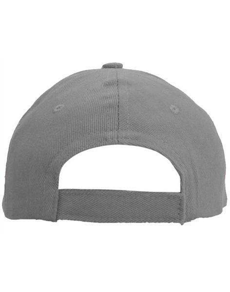 Baseball cap - volwassene, grijs