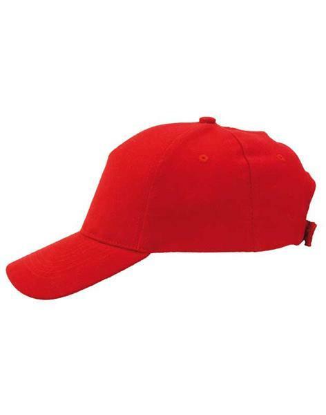 Baseball cap - volwassene, rood