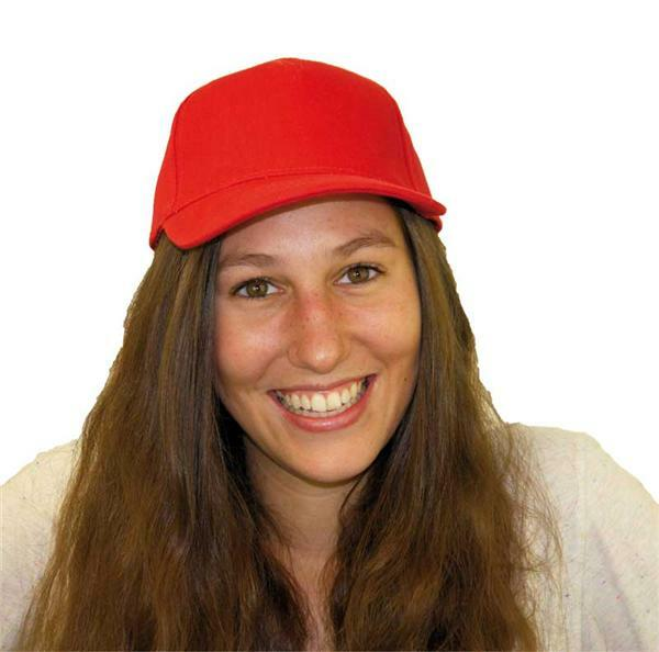 Casquette base-ball - adulte, rouge