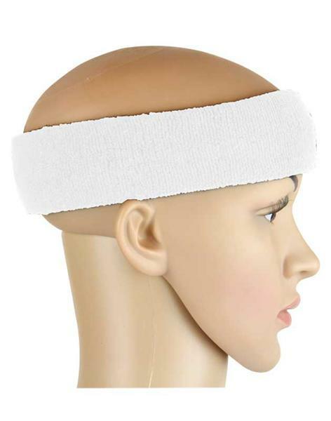 Schweißband - Kopf, weiß