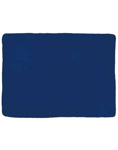 Fleecedecke - 130 x 170 cm, dunkelblau
