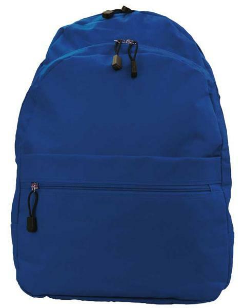 Rucksack - ca. 35 x 45 x 17 cm, blau