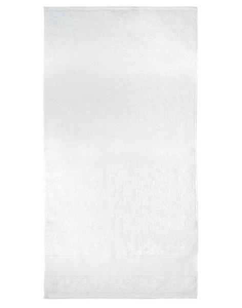 Handtuch - ca. 50 x 100 cm, weiß